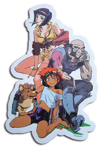 Cowboy Bebop - Group Sticker, an officially licensed product in our Cowboy Bebop Stickers department.