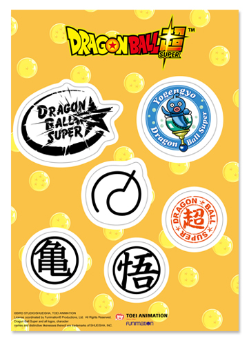 Dragon Ball Super - Icon Sticker Set, an officially licensed product in our Dragon Ball Super Stickers department.