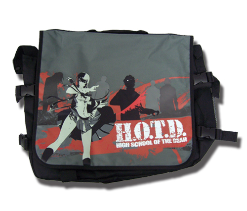 High School Of The Dead Saeko Messenger Bag, an officially licensed product in our Everything Else Bags department.