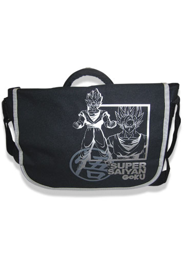 Dragon Ball Z Super Saiyan Goku Messenger Bag, an officially licensed product in our Dragon Ball Z Bags department.