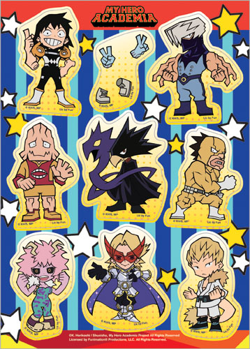 My Hero Academia - S2 Group Sd Sticker Set, an officially licensed product in our My Hero Academia Stickers department.
