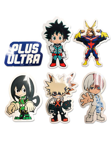 My Hero Academia - Sticker Set, an officially licensed product in our My Hero Academia Stickers department.