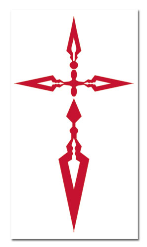 Fate/zero Kiritsugu Command Seal Temporary Tattoo, an officially licensed Fate Zero Temp Tattoo