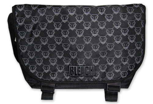 Bleach Shinigami Pattern Messenger Bag, an officially licensed Bleach product at B.A. Toys.