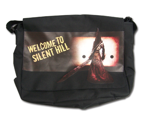 Silent Hill Welcome To Silent Hill Messenger Bag, an officially licensed product in our Silent Hill Bags department.