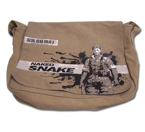 Metal Gear Solid 3 Snake Eater Messenger Bag, an officially licensed product in our Metal Gear Bags department.
