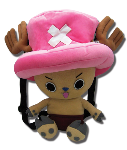 One Piece Chopper Plush Bag, an officially licensed product in our One Piece Bags department.