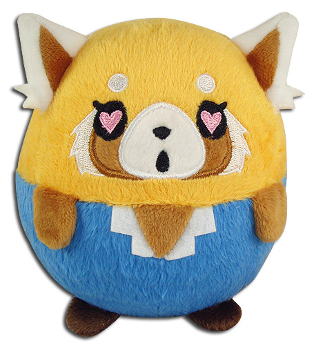 Aggretsuko - Retusko 03 Ball Plush 4, an officially licensed Aggretsuko product at B.A. Toys.