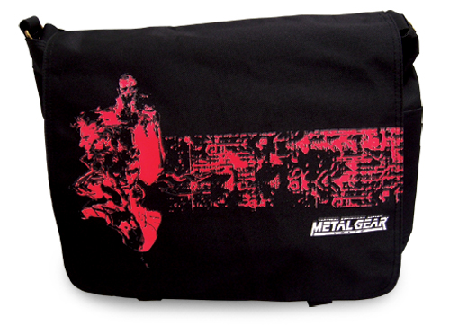 Metal Gear Solid Mgs 1 Messenger Bag, an officially licensed Metal Gear product at B.A. Toys.