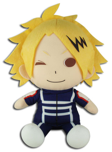 My Hero Academia - Kaminari Sitting Pose Plush 7'', an officially licensed product in our My Hero Academia Plush department.