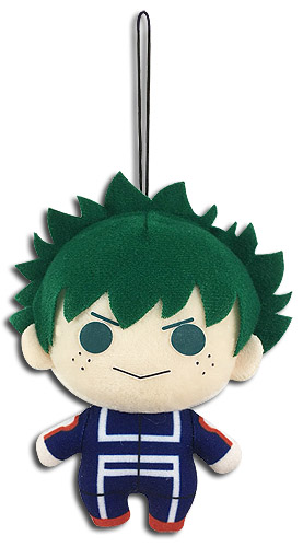 My Hero Academia - Midoriya Plush 4'' officially licensed My Hero Academia Stationery product at B.A. Toys.