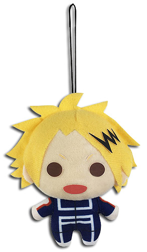 My Hero Academia - Kaminari Plush 4'', an officially licensed product in our My Hero Academia Plush department.
