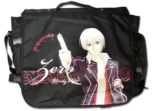 Vampire Knight Zero Bloody Rose Crossing Messenger Bag, an officially licensed product in our Vampire Knight Bags department.