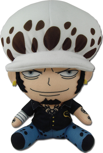 One Piece - Zou Arc Law Sitting Plush 6