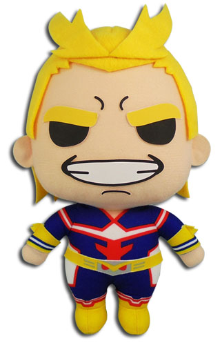 My Hero Academia - Allmight Plush 8'', an officially licensed product in our My Hero Academia Plush department.