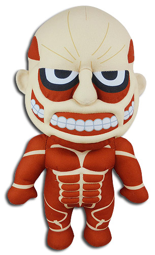 Attack On Titan S2 - Titan Plush 10, an officially licensed Attack On Titan product at B.A. Toys.