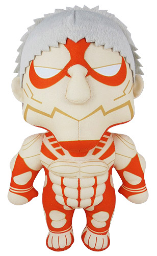 Attack On Titan S2 - Armored Titan Plush 10, an officially licensed Attack On Titan product at B.A. Toys.