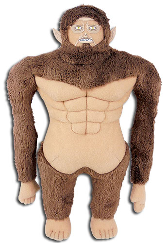 Attack On Titan S2 - Beast Titan Plush 10, an officially licensed Attack On Titan product at B.A. Toys.