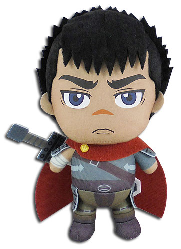 Berserk - Guts Plush 8, an officially licensed Berserk product at B.A. Toys.