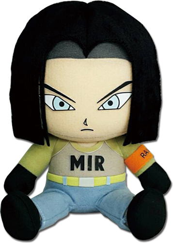 Dragon Ball Super - Android 17 Sitting Plush 7'', an officially licensed product in our Dragon Ball Super Plush department.