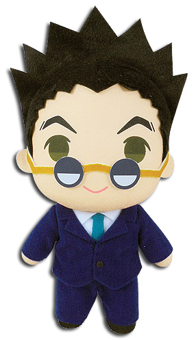 Hunter X Hunter - Leorio Plush 8'' officially licensed Hunter X Hunter Plush product at B.A. Toys.