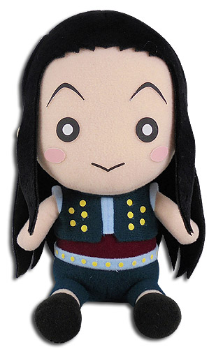 Hunter X Hunter - Illumi Sitting Pose Plush 7'', an officially licensed product in our Hunter X Hunter Plush department.