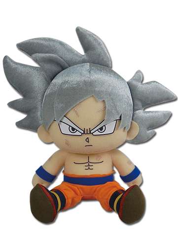 Dragon Ball Super - Goku Ultra Instinct Sitting Plush 7'', an officially licensed product in our Dragon Ball Super Plush department.