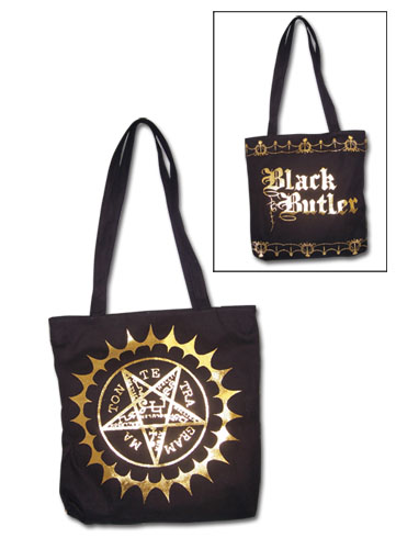 Black Butler Tote Bag officially licensed product at B.A. Toys.