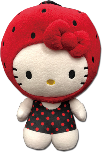 Hello Kitty - Strawberry Kitty Plush 12'', an officially licensed product in our Hello Kitty Plush department.