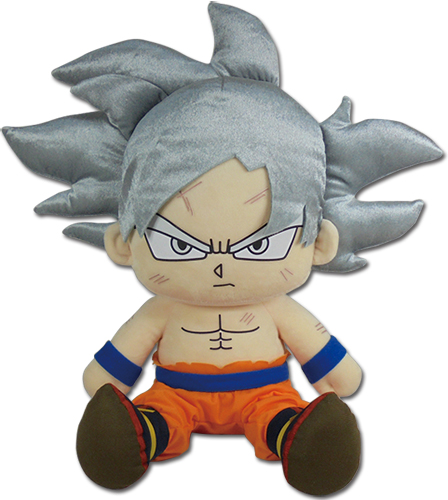 Dragon Ball Super - Goku Ultra Instinct Sitting Plush 14
