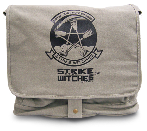 Strike Witches 501St St Logo Messenger Bag, an officially licensed product in our Strike Witches Bags department.