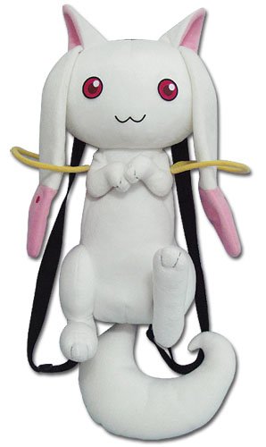 Madoka Magica Kyubey Plush Bag, an officially licensed product in our Madoka Magica Bags department.