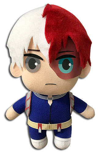 My Hero Academia - Todoroki Hero Costume Plush, an officially licensed product in our My Hero Academia Plush department.