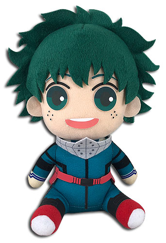 My Hero Academia - Deku Hero Costume 2Nd Ver Sitting Plush 7'', an officially licensed product in our My Hero Academia Costumes & Accessories department.