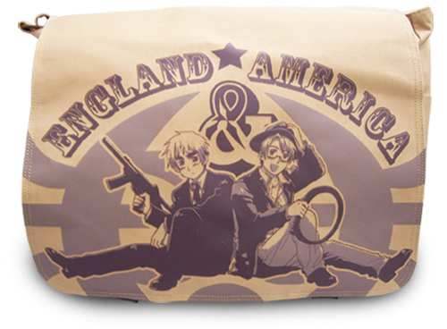 Hetalia Us And Uk Messenger Bag, an officially licensed product in our Hetalia Bags department.