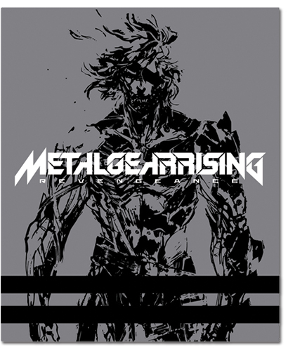 Metal Gear Rising Key Art Blanket, an officially licensed product in our Metal Gear Blankets & Linen department.