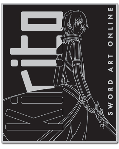 Sword Art Online Kirito Throw Blanket officially licensed product at B.A. Toys.