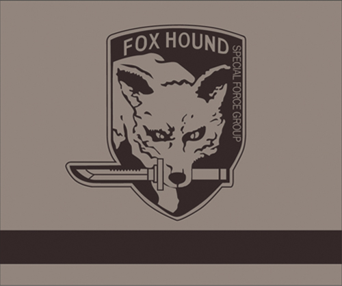 Metal Gear Solid Fox Hound Throw Blanket, an officially licensed product in our Metal Gear Blankets & Linen department.
