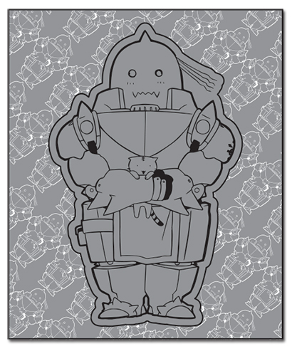 Fullmetal Alchemist - Sd Alphonse Throw Blanket, an officially licensed product in our Fullmetal Alchemist Blankets & Linen department.