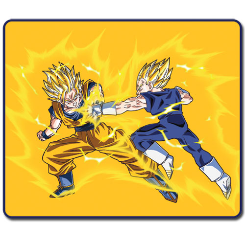 Dragon Ball Z - Ss Goku Vs Ss Vegeta Throw Blanket, an officially licensed product in our Dragon Ball Z Blankets & Linen department.