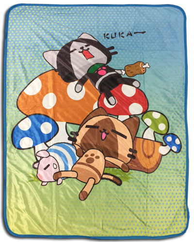 Monster Hunter - Naptime Sublimation Throw Blanket, an officially licensed product in our Monster Hunter Blankets & Linen department.