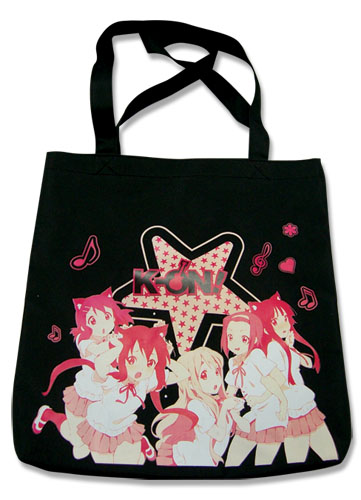 K-On Girls Band Tote Bag, an officially licensed product in our K-On Bags department.