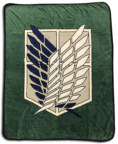 Attack On Titan S2 - Scout Regiment Throw Blanket officially licensed Attack On Titan Blankets & Linen product at B.A. Toys.