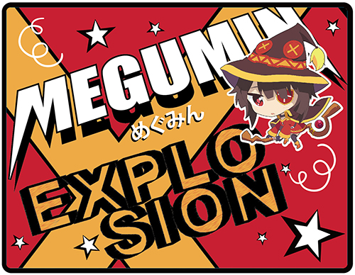 Konosuba - Sd Megumin Throw Blanket, an officially licensed product in our Konosuba Blankets & Linen department.