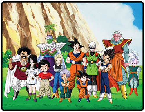 Dragon Ball Z - Tournament Group Throw Blanket, an officially licensed product in our Dragon Ball Z Blankets & Linen department.
