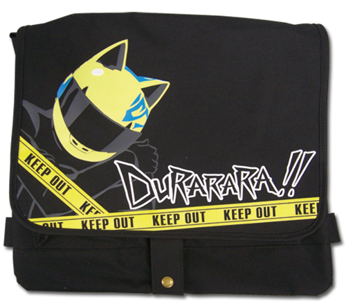 Durarara!! Celty Messenger Bag officially licensed product at B.A. Toys.