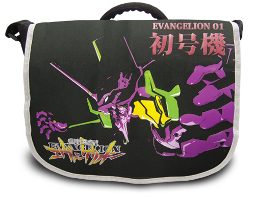 Evangelion Shogouki Messenger Bag, an officially licensed Evangelion product at B.A. Toys.