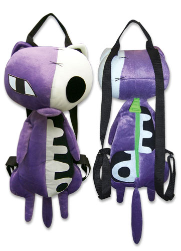 Panty & Stocking Hollow Kitty Plush Bag, an officially licensed product in our Panty & Stocking Bags department.