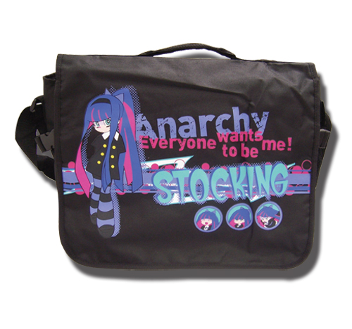 Panty & Stocking Stocking Messenger Bag, an officially licensed product in our Panty & Stocking Bags department.
