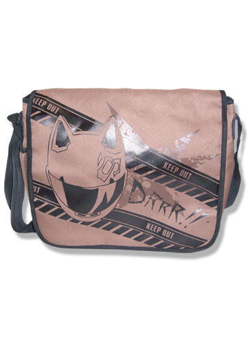 Durarara!! Celty Helmet Messenger Bag, an officially licensed product in our Durarara!! Bags department.